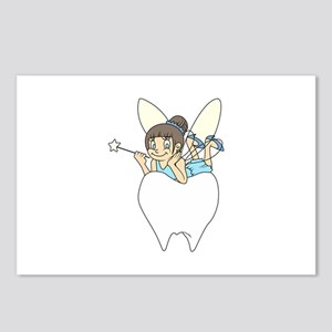 TOOTH FAIRY ON MOLAR Postcards (Package of 8)