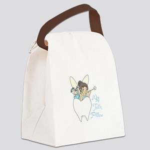 MY TOOTH PILLOW Canvas Lunch Bag