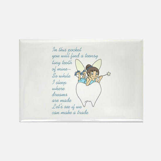 TOOTH FAIRY POEM Magnets