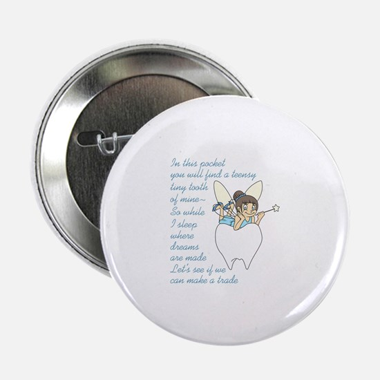 """TOOTH FAIRY POEM 2.25"""" Button (10 pack)"""