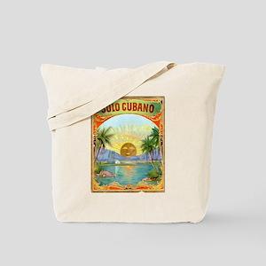 Solo Cubano Cigar Art Tote Bag