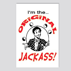ORIGINAL JACKASS Postcards (Package of 8)