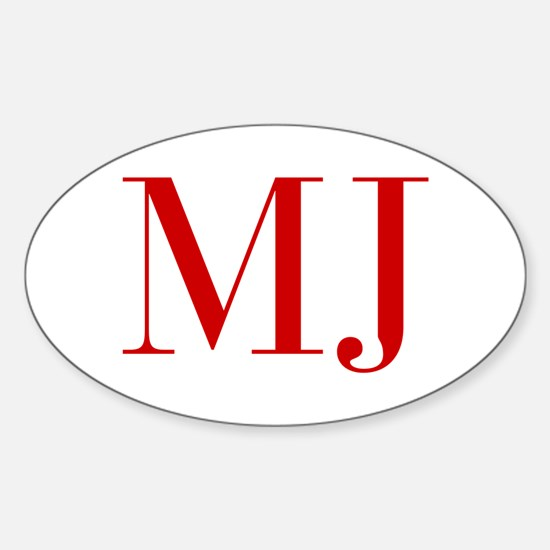 MJ-bod red2 Decal