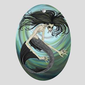 Dark Waters Oval Ornament