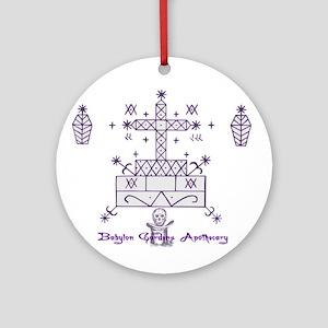 Baron Samedi Ornament (Round)