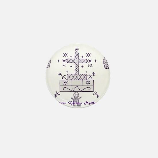 Baron Samedi Mini Button