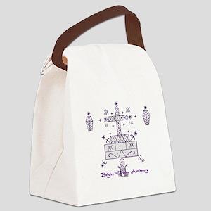 Baron Samedi Canvas Lunch Bag