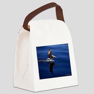 Pelican Landing Canvas Lunch Bag