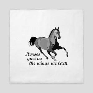 RUNNING HORSE Queen Duvet