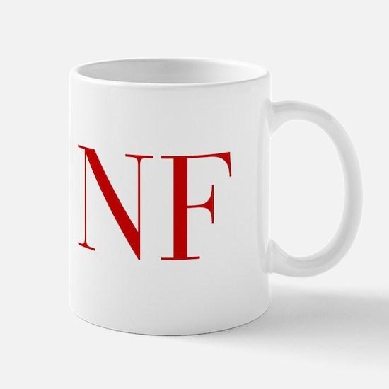 NF-bod red2 Mugs