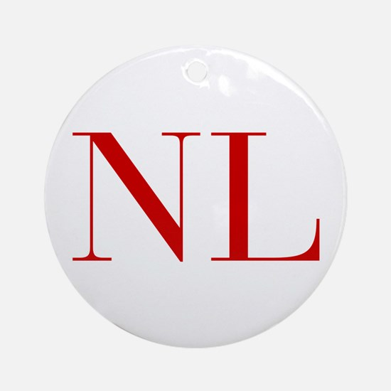 NL-bod red2 Ornament (Round)
