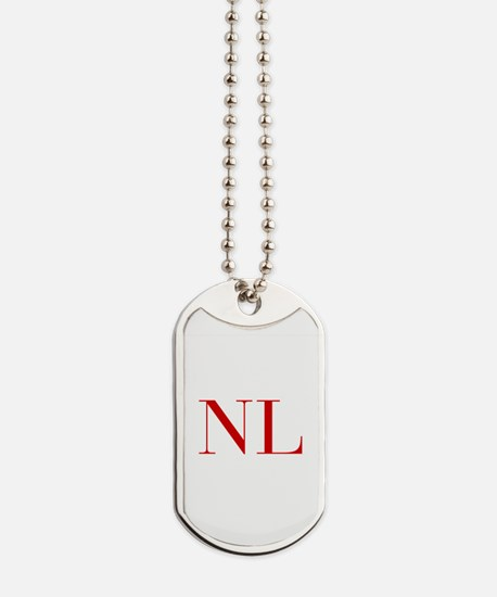 NL-bod red2 Dog Tags