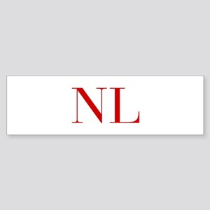 NL-bod red2 Bumper Sticker