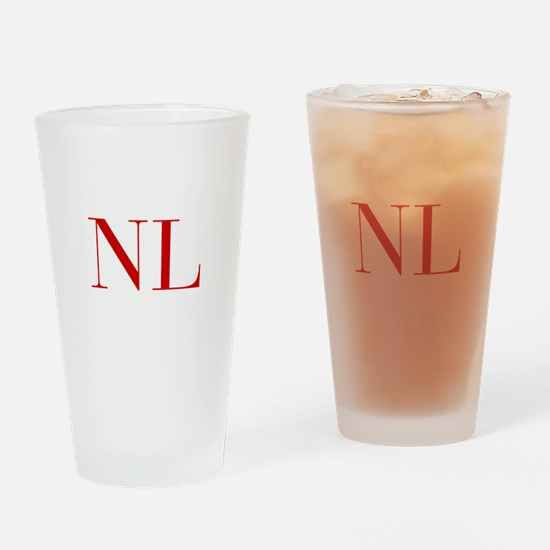 NL-bod red2 Drinking Glass