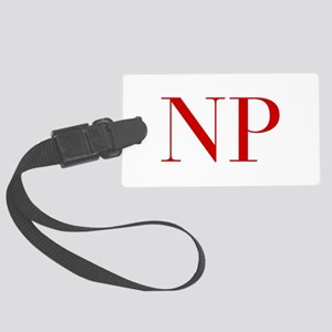 NP-bod red2 Luggage Tag