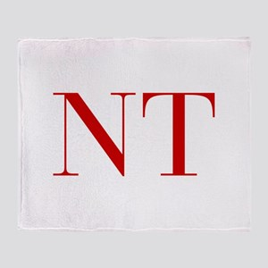 NT-bod red2 Throw Blanket