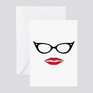 Gorgeous Lady Greeting Cards