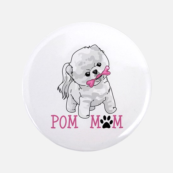 "POM MOM 3.5"" Button"