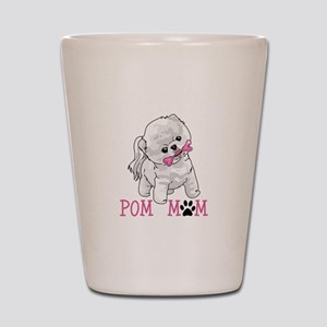 POM MOM Shot Glass