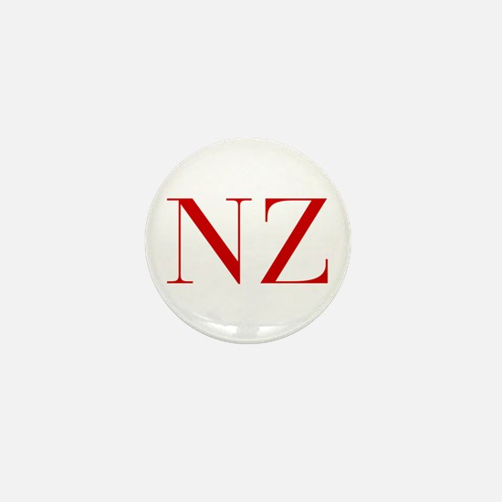 NZ-bod red2 Mini Button