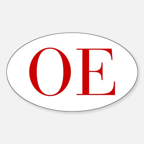OE-bod red2 Decal