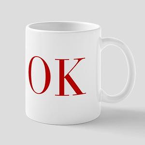 OK-bod red2 Mugs