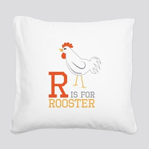 ris for roosted Square Canvas Pillow