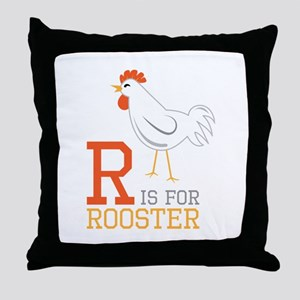 ris for roosted Throw Pillow