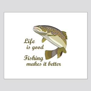 FISHING IS BETTER Posters
