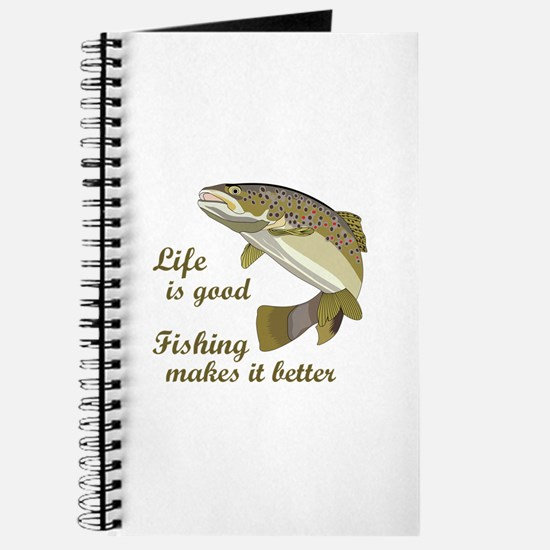 FISHING IS BETTER Journal