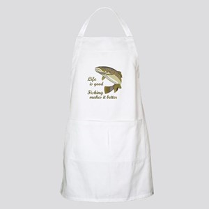 FISHING IS BETTER Apron