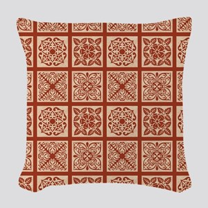 BOHO CHIC Woven Throw Pillow