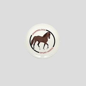WARMBLOOD SPORT HORSE Mini Button