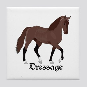 DRESSAGE HORSE Tile Coaster