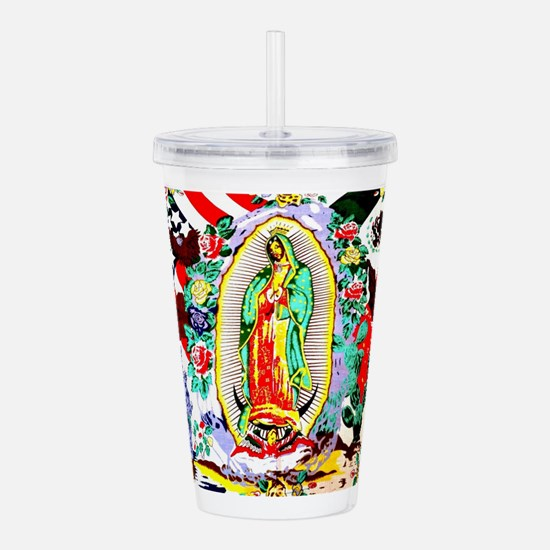 Virgin Mary - Our Lady Acrylic Double-wall Tumbler