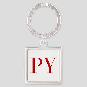PY-bod red2 Keychains