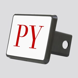 PY-bod red2 Hitch Cover
