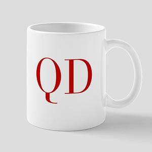 QD-bod red2 Mugs
