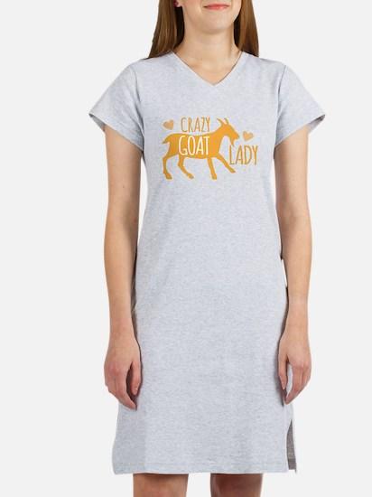 Crazy Goat Lady Women's Nightshirt