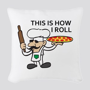 HOW I ROLL Woven Throw Pillow