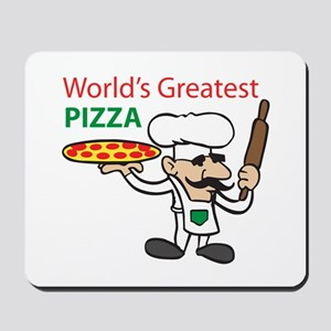 WORLDS GREATEST PIZZA Mousepad