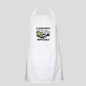 CLEANLINESS IS Apron