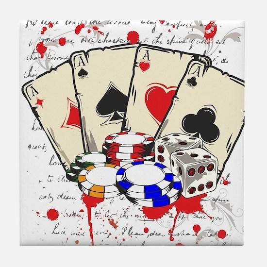 game casino Tile Coaster