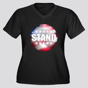 Stand for the Anthem Plus Size T-Shirt
