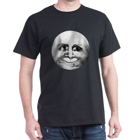 MAN IN THE MOON dark t-shirt