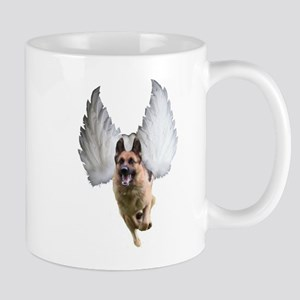 German Shepherd Angel Mugs