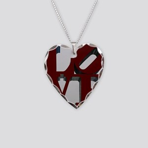 LOVE Necklace Heart Charm