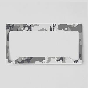 Urban Camouflage License Plate Holder