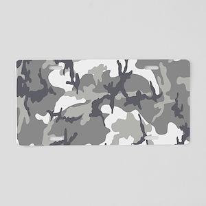 Urban Camouflage Aluminum License Plate