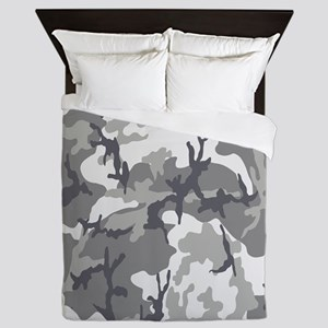 Urban Camouflage Queen Duvet